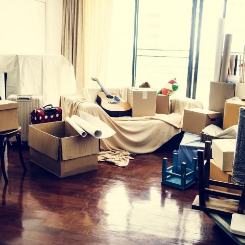 storage facility moving house